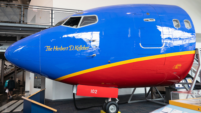 N102SW - Boeing 737-2H4(Adv) - Southwest Airlines