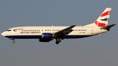ZS-OAR - Boeing 737-476 - British Airways (Comair)
