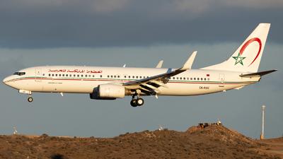 CN-ROC - Boeing 737-8B6 - Royal Air Maroc (RAM)