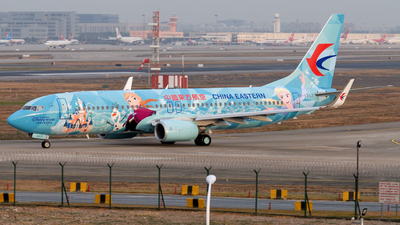 B-1317 - Boeing 737-89P - China Eastern Airlines