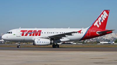 PR-MAQ - Airbus A319-132 - TAM Linhas Aéreas