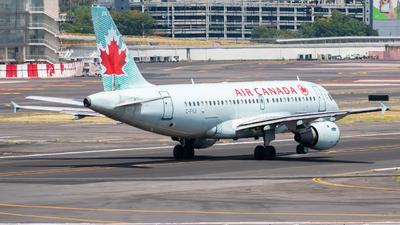 A picture of CFYJI - Airbus A319114 - Air Canada - © Arturo Quintero