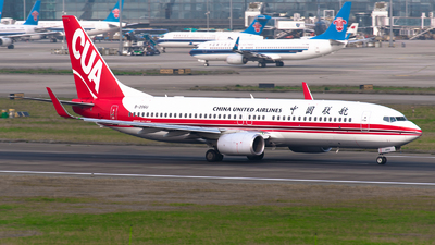 A picture of B206U - Boeing 73789P - China United Airlines - © Shiori Daredemo Daisuki