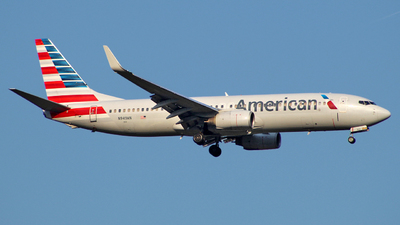 A picture of N949AN - Boeing 737823 - American Airlines - © wangruoyao