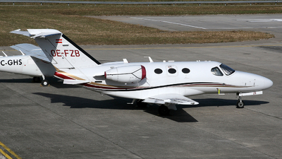 OE-FZB - Cessna 510 Citation Mustang - GlobeAir