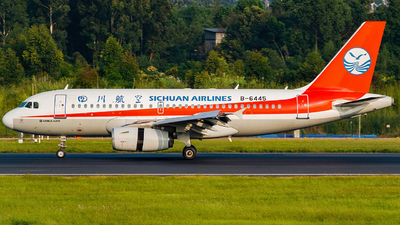 B-6445 - Airbus A319-133 - Sichuan Airlines