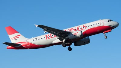 VP-BWW - Airbus A320-232 - Red Wings