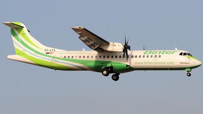 EC-LFA - ATR 72-212A(500) - Binter Canarias