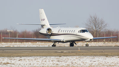 OO-GSP - Cessna 680 Citation Sovereign - Air Service Liège (ASL)