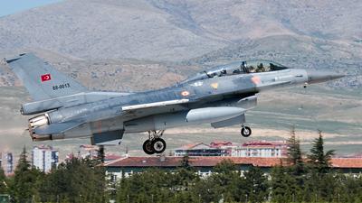 88-0013 - Lockheed Martin F-16D Fighting Falcon - Turkey - Air Force
