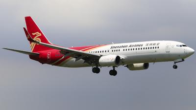 B-1519 - Boeing 737-87L - Shenzhen Airlines