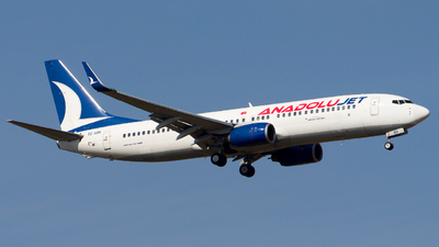 A picture of TCSBV - Boeing 73786N - Turkish Airlines - © Chr Pe