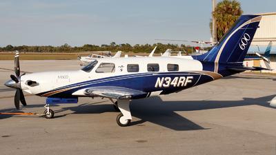 N34RF - Piper PA-46-M600 - Private