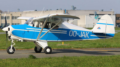 OO-JAK - Piper PA-22-150 Tri-Pacer - Private