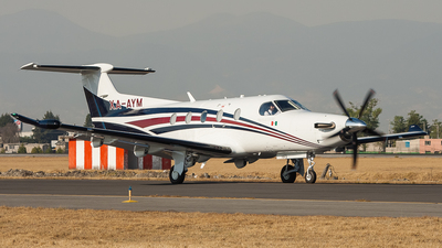 XA-AYM - Pilatus PC-12/47E - Private
