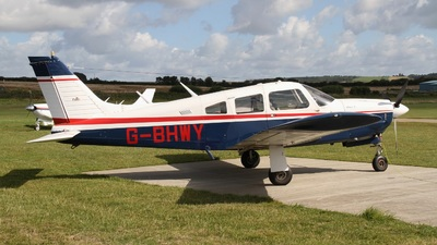 G-BHWY - Piper PA-28R-200 Cherokee Arrow II - Private