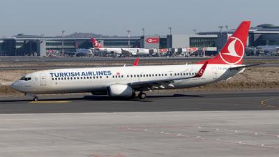 A picture of TCJYE - Boeing 7379F2(ER) - Turkish Airlines - © Mustafa Sandikci