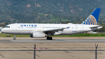 A picture of N460UA - Airbus A320232 - United Airlines - © Beck Ramsey