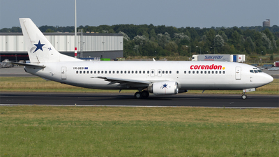 YR-SEB - Boeing 737-484 - Corendon Dutch Airlines (Star East Airlines)