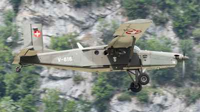 V-616 - Pilatus PC-6/B2-H2 Turbo Porter - Switzerland - Air Force