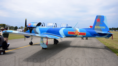 N622CD - Nanchang CJ-6A - Private