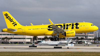A picture of N918NK - Airbus A320271N - Spirit Airlines - © Arno Vesterholm