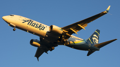 A picture of N536AS - Boeing 737890 - Alaska Airlines - © Michael Rodeback