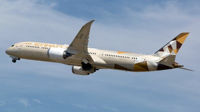 A6-BLZ - Boeing 787-9 Dreamliner - Etihad Airways