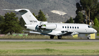 N875HB - Hawker Beechcraft 4000 - Private