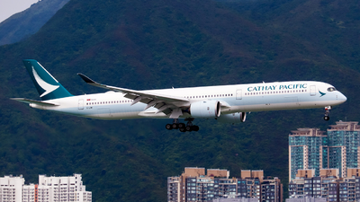 A picture of BLXM - Airbus A3501041 - Cathay Pacific - © Thomas Tse Aviation