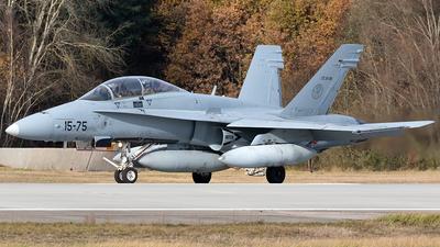 CE.15-06 - McDonnell Douglas EF-18BM Hornet - Spain - Air Force