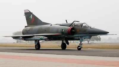 96-747 - Dassault Mirage 5VEF - Pakistan - Air Force