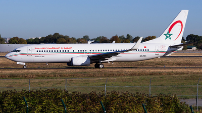 A picture of CNROA - Boeing 7378B6 - Royal Air Maroc - © Baptiste Prevost