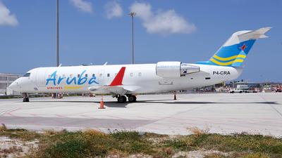 P4-CRA - Bombardier CRJ-200ER - Aruba Airlines