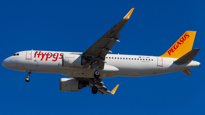 A picture of TCNBS - Airbus A320251N - Pegasus Airlines - © Furkan KSCK