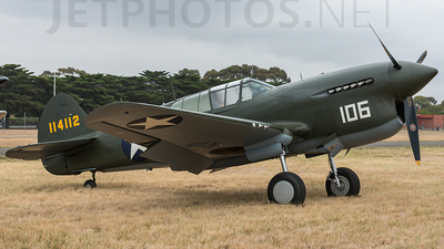 VH-HWK - Curtiss P-40F Warhawk - Private