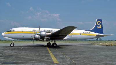 HK-3644X - Douglas DC-6A Liftmaster - Líneas Aéreas Suramericanas