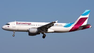 D-ABNN - Airbus A320-214 - Eurowings