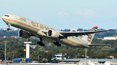A6-ETL - Boeing 777-3FXER - Etihad Airways