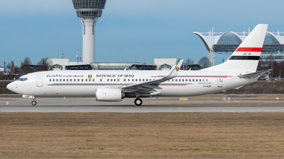YI-ASF - Boeing 737-81Z - Iraq - Government