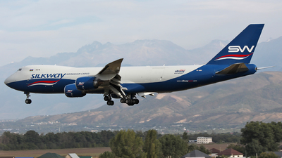 VQ-BBH - Boeing 747-83QF - Silk Way West Airlines