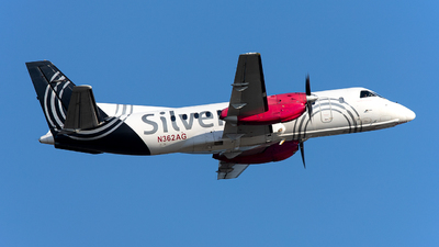 A picture of N362AG - Saab 340B - Silver Airways - © OCFLT_OMGcat