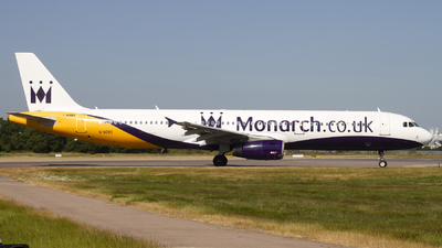 G-OZBS - Airbus A321-231 - Monarch Airlines