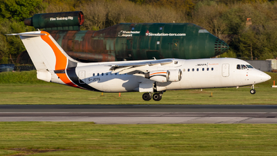G-JOTS - British Aerospace Avro RJ100 - Jota Aviation