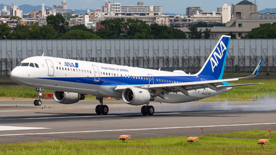 A picture of JA111A - Airbus A321211 - All Nippon Airways - © Tokubee