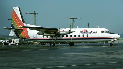 N379NE - Fairchild-Hiller FH-227C - Air New England