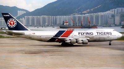 N749WA - Boeing 747-273C - Flying Tigers