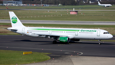 D-ASTP - Airbus A321-211 - Germania