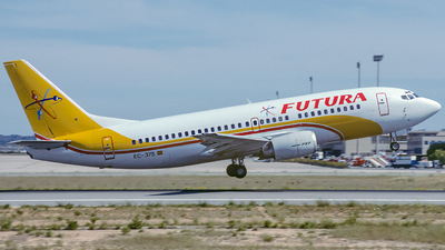 EC-375 - Boeing 737-348 - Futura International Airways
