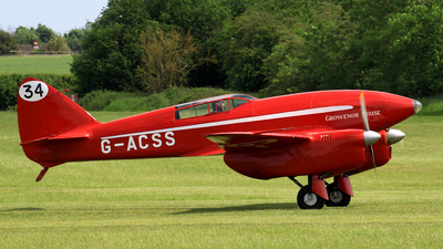 A picture of GACSS - de Havilland DH.88 Comet - [1996] - © Michael Eaton